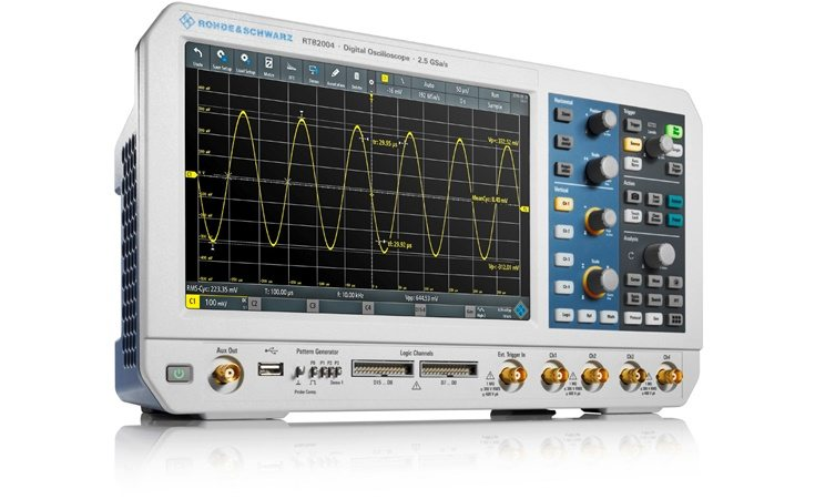 Picture: Rohde & Schwarz RTB2004