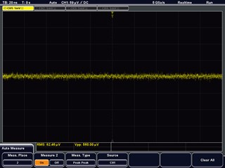 Picture: Low noise and low crosstalk