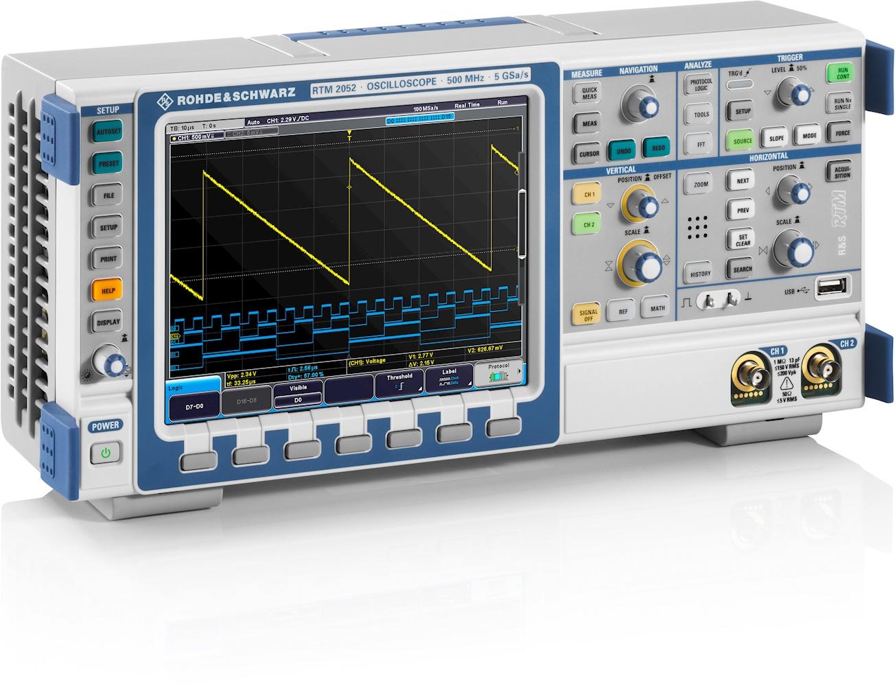 Rohde Amp Schwarz Rtm2102 Oscilloscope Special Offer