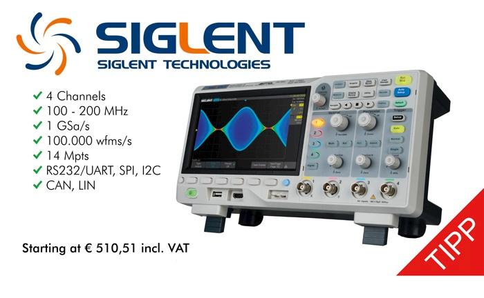 Picture: New! Siglent SDS1004X-E