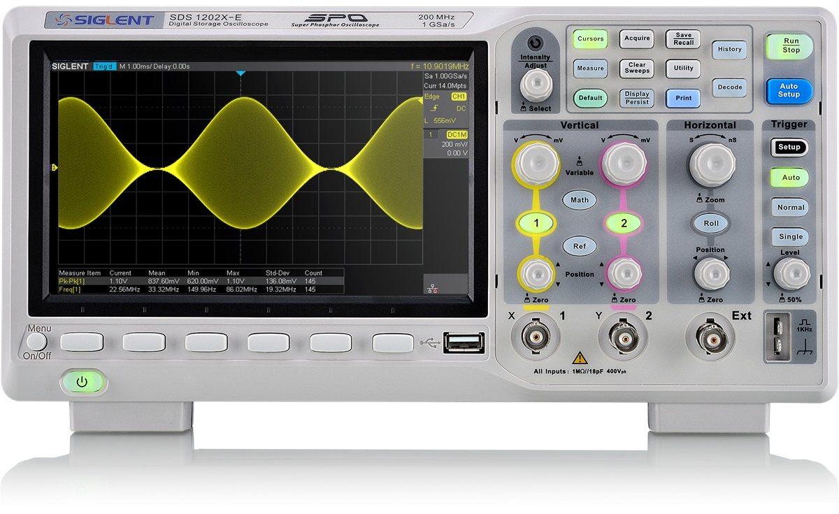 Siglent SDS1202X-E Speicher Oszilloskop !!Angebotspreis!!