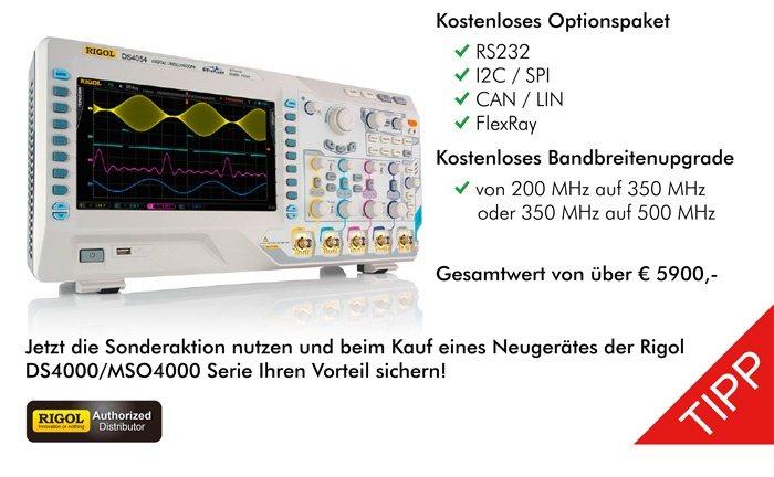 Bild: Jetzt mit der DS4000/MSO4000 Sonderaktion gewaltig sparen!