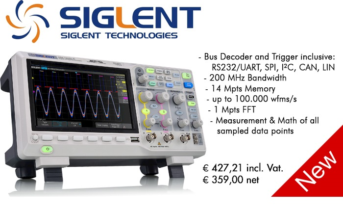 Picture: New! Siglent SDS1202X-E
