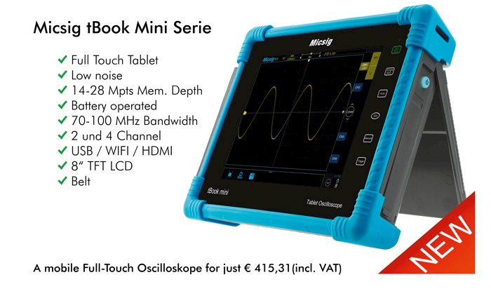 Picture: The new Full-Touch oscilloscopes by Micsig