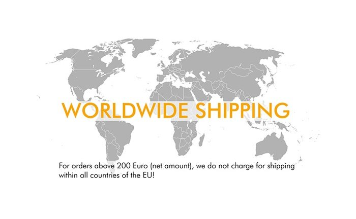 Picture: Benefit from our international Shipping Service