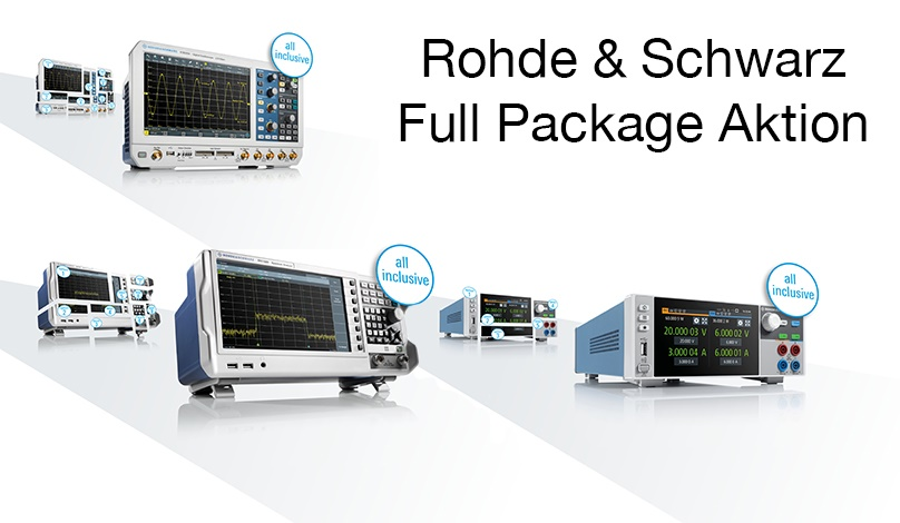 Rohde & Schwarz Full Package Promotion