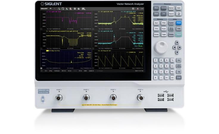 Picture: Siglent SNA5014A