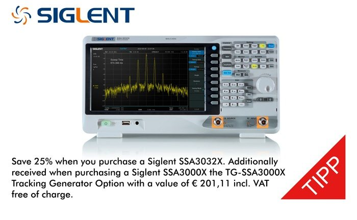 Picture: Siglent SSA3000X Special Promotion