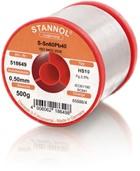 Stannol Lötdraht HS10, Sn60Pb40, ⌀0.5mm, 500g