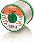 Stannol Lötdraht HS10, Sn99Cu1 (Sn99.3 Cu0.7), ⌀1.0mm, 500g