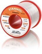 Stannol Soldering Wire Kristall 511, TSC305 (Sn96.5 Ag3 Cu0.5), ⌀0.75mm, 1000g