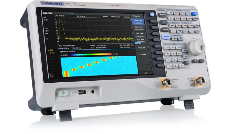 Der neue SVA1032X Spektrum- Vektoranalysator von Siglent