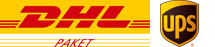 We deliver with DHL services.