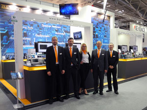 Batronix booth at the electronica 2016