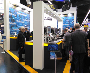Batronix booth at the embedded world 2016