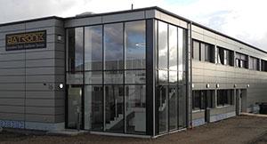 Batronix new company building