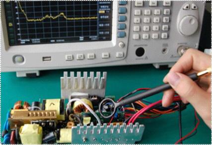Messung der Funkstörausstrahlung (Radiated EMI)