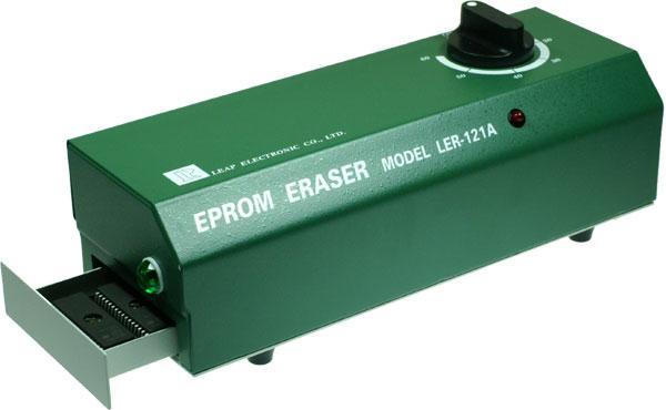 EPROM Eraser w/ EPROM Eraser w/ Electronic starter, Powerful UV tube,Erase time is approximately 15 minutes.Bộ xoá EPROM có đèn UV mạnh, thời gian xoá khoảng 15 phút/ lượt (12 chiếc IC). Sản phẩm bộ xoá EPROM của hãng LEAP nổi tiếng và được dùng phổ dụng nhất toàn cầu. Đáp ứng đầy đủ tiêu chuẩn và kỹ thuật trong sản xuất công nghiệp và thiết kế, phát triển sản phẩm điện tử.