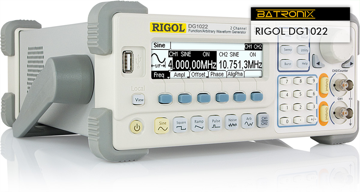 Rigol dg1022 – Industrial electronic components