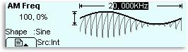AM Modulation - Frequenzeinstellung