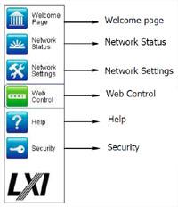 Web Menü