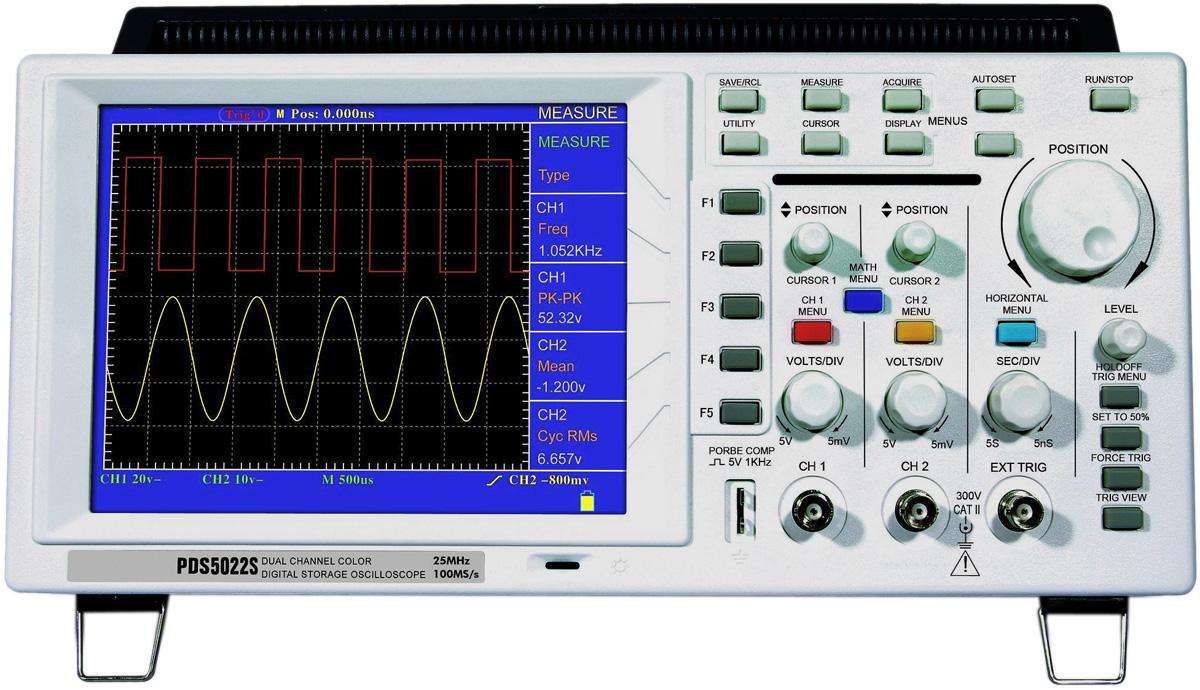 Best Digital Oscilloscope : Owon pds s digital storage oscilloscope
