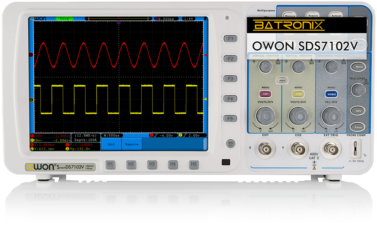 Digital Oscilloscope Software : Owon sds digital oscilloscope special offer