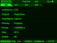 Trigger In- and Output